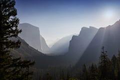 Yosemite dal, Yosemite nationalpark, Kalifornien, USA Royaltyfri Bild