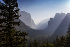Yosemite dal, Yosemite nationalpark, Kalifornien, USA Royaltyfri Bild