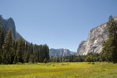 Yosemite dolina fotografia royalty free