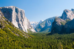 Yosemite dolina fotografia stock