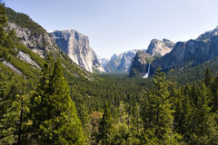 Yosemite doliny obrazy royalty free