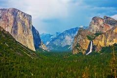 Yosemite doliny fotografia stock