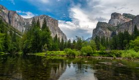 Yosemite doliny widok Obraz Stock