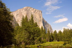 Yosemite, El Capitan. Yosemite, view on El Capitan Stock Photos