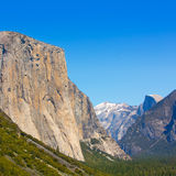 Yosemite el Capitan in California National Parks Royalty Free Stock Photo