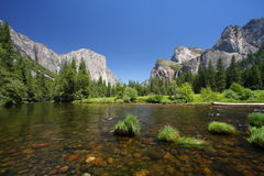 Yosemite, Etats-Unis Photos libres de droits