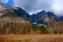 Yosemite fall Royalty Free Stock Photos