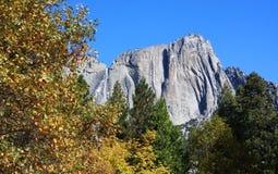 Yosemite Falls - после полудня стоковые изображения rf
