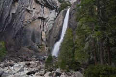 Yosemite Falls Photographie stock