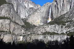Yosemite Falls. Taken from valley below Royalty Free Stock Photography