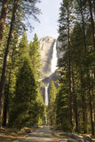 Yosemite falls. Yosemite National Park, California, United States Royalty Free Stock Image