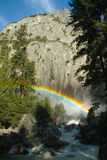 Yosemite Falls rainbow Royalty Free Stock Image
