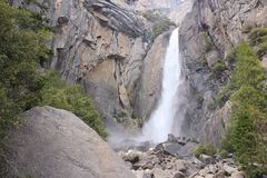 Yosemite Falls Photo libre de droits