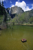 Yosemite Falls. At Spring, Yosemite National Park stock photos
