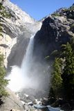 Yosemite Falls Crashing Down Stock Photos
