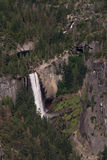 Yosemite Falls. From Glacier Point, Yosemite National Park Royalty Free Stock Photography