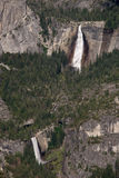 Yosemite Falls. From Glacier Point, Yosemite National Park Stock Image