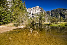 Yosemite Falls, la Californie Photos libres de droits