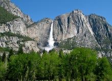 Yosemite Falls in landscape format Royalty Free Stock Photos