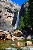 Yosemite Falls, parque nacional de Yosemite Fotos de Stock Royalty Free