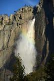 Yosemite falls rainbow Stock Photo