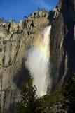 yosemite falls rainbow Royalty Free Stock Photography