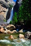 Yosemite Falls, sosta nazionale del Yosemite Fotografie Stock Libere da Diritti