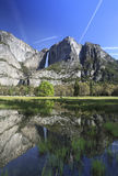 Yosemite Falls in spring Royalty Free Stock Photos