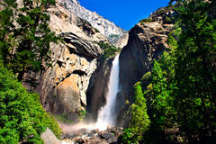 Yosemite Falls, stationnement national de Yosemite Photos libres de droits