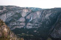Yosemite Falls at Sunrise from Glacier Point