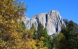 Yosemite Falls - tarde imagens de stock royalty free