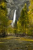 Yosemite Falls Tranquility Stock Photos