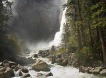 Yosemite Falls up close Stock Image