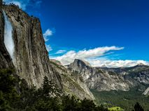 Yosemite falls, yoesmite national park, usa royalty free stock photography