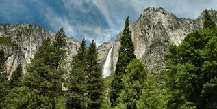 Yosemite Falls - Yosemite National Park Royalty Free Stock Image