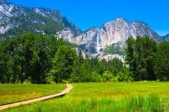 Yosemite Falls in Yosemite National Park,California Stock Photography