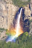 Yosemite Falls in Yosemite National Park Royalty Free Stock Image