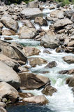 Yosemite-Fluss Stockbild