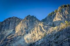 Yosemite grań w ranku Zdjęcie Royalty Free