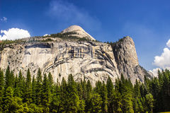 Yosemite Granite Wall with Dome On Top Stock Photography
