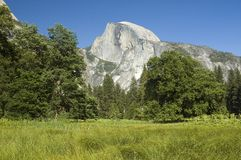 Yosemite Half Dome Royalty Free Stock Photography
