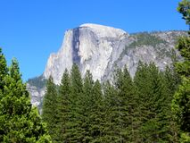 Yosemite Half Dome Royalty Free Stock Photos