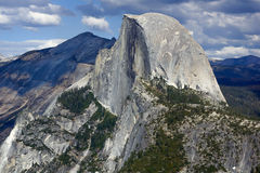 Yosemite Half Dome. Half Dome is a granite dome in Yosemite National Park, Yosemite Valley, California Royalty Free Stock Image