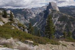 Yosemite halv kupol Royaltyfria Bilder