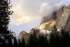 Yosemite in inverno Immagini Stock