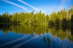 Yosemite jeziora odbicie Zdjęcia Stock