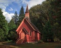 Yosemite katedra w dolinie zdjęcia stock