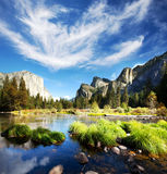 Yosemite. Landscapes Stock Image