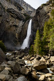 Yosemite Lower Fall Stock Photography
