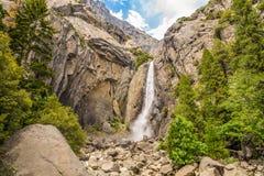 Yosemite Lower fall Royalty Free Stock Photos